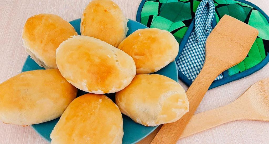 Печёные пирожки с картошкой