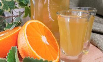 Домашняя настойка на апельсинах