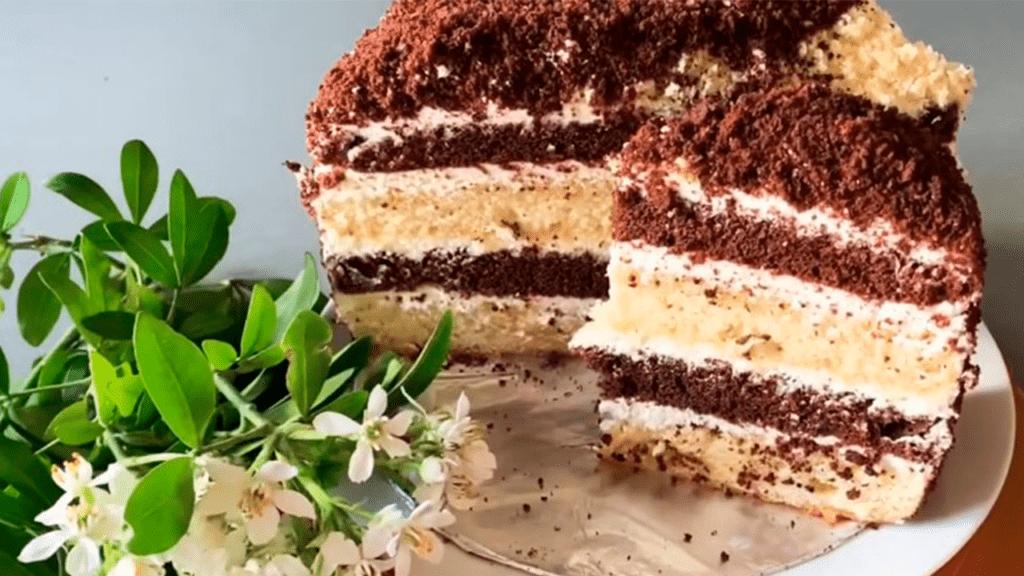 """торт """"Кудряш"""" или махровый торт"""