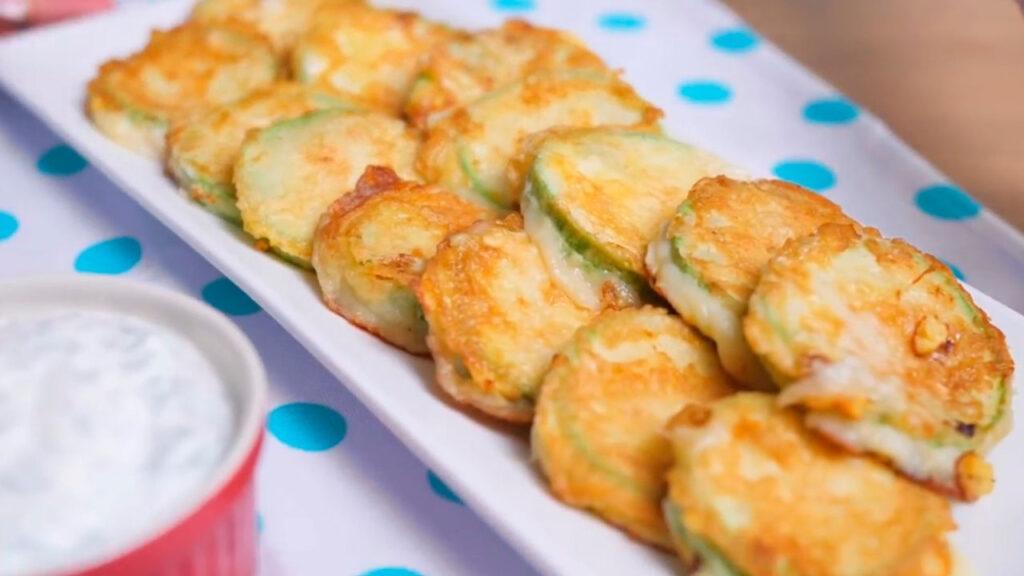 Вариант готового блюда из кабачков