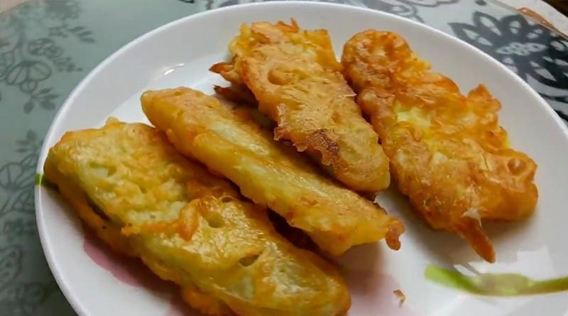 Кабачки в кляре - бомбически вкусная закуска